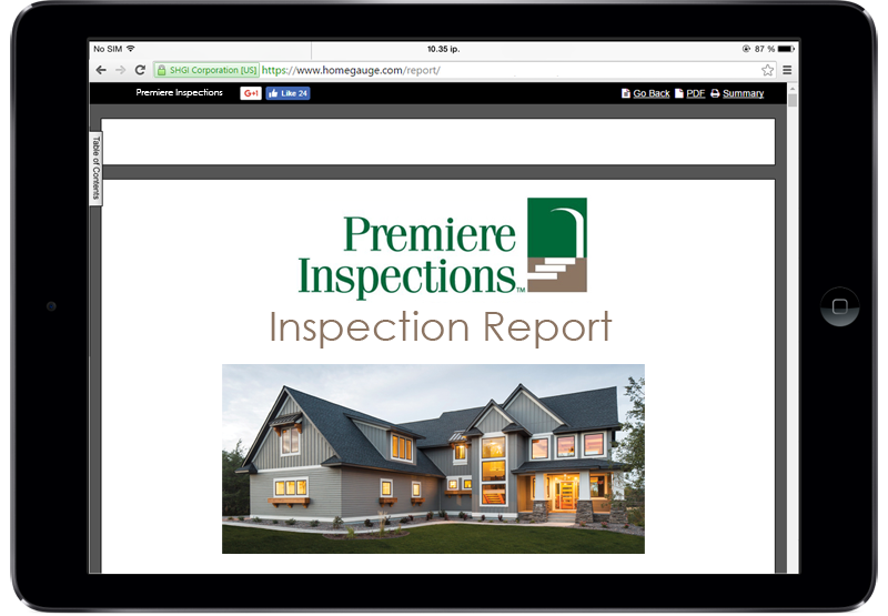 Sample Report | Premiere Inspections